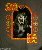 OZZY OSBOURNE cd cvr SPEAK OF THE DEVIL Official Grey SHIRT SMALL New oop