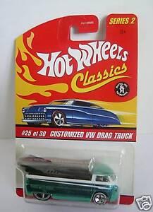 CUSTOMIZED VW DRAG TRUCK~Hot Wheels Classics S2~MOMC
