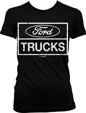 Ford Trucks Pick Up Super Duty F-150 Tough Automobile Car Muscle Juniors T-Shirt
