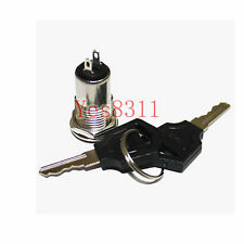 1PCS Key Switch ON /OFF Lock Switch Two Keys Key Set Mini Key Switch Ignition