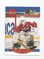 Mike Liut Capitals 1990-1991 Pro Set #316