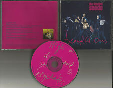 LONDON SUEDE Beautiful Ones  PROMO Radio DJ CD single 1997 w/ PRINTED LYRICS