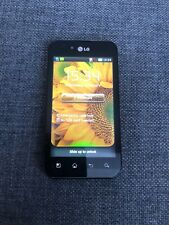 LG Optimus P970 - Black (Unlocked) Smartphone