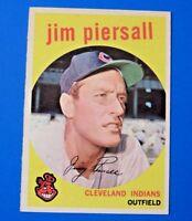 1959 TOPPS JIM PIERSALL BASEBALL CARD #355 ~ EX ~