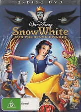 disneys snow white and the 7 dwarfs  dvd   z4 brand new sealed free postage