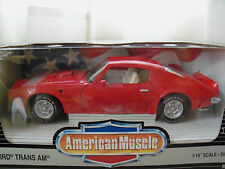 "AMERICAN MUSCLE ""COLLECTOR'S EDITION"" 1973 PONTIAC FIREBIRD TRANS AM DIECAST"