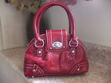 Per Una Handbag, shiny red, Marks and Spencer