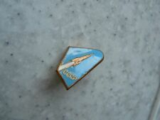 Vintage badge of the USSR. Space. First satellite 1957