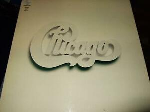 CHICAGO : AT CARNEGIE HALL 4LP BOX CBS 66405 +ALL INSERTS