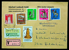 Wertbrief - Hamburg-Hildesheim - Bedarfsbrief - Einschreiben - RECO - ATM-Bedarf