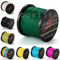 Spectra 500M 6lb~200lb Top PE Dyneema Extreme Braided Fishing Line Power Casting
