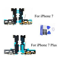 For iPhone 7 / 7+ Dock Connector Charging Port Replacement & Microphone Flex