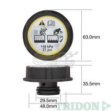 TRIDON RADIATOR CAP FOR Ford Focus LSTurbo 04/06-06/07 4, 5 2.0L2.5L 16V, 20V