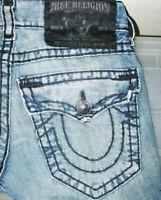 *HOT AUTHENTIC USA Men TRUE RELIGION @ BILLY SUPER T BOOTCUT Denim Jeans 28 x 31