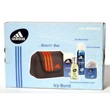Adidas ICY Burst Beauty Bag Eau de Toilette 50ml doccia Schiuma 100ml Deo