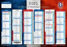 Calendrier Républicain 2021 - format A4 - papier épais, prévu pour écrire