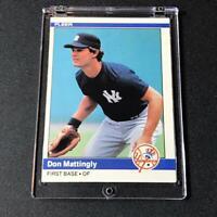 DON MATTINGLY 1984 FLEER #131 ROOKIE RC NEW YORK YANKEES MLB