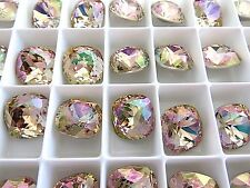 4 Purple Haze Swarovski Crystal Square Cushion Cut  Stone 4470 12mm