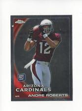2010 Topps Chrome #C47 Andre Roberts RC Rookie Cardinals Lions
