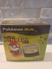 Nintendo Pokemon Mini Pinball Mini New