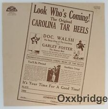 THE CAROLINA TAR HEELS SEALED Look Who's Coming! COUNTRY FOLK COMPILATION VINYL
