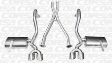 Corsa Cat-Back Xtreme + XO For 97-04 Chevrolet Corvette C5 Z06 5.7L V9 Polished