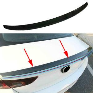 Carbon fiber Tail Rear Trunk Spoiler Wing Lip Trim For Mazda 3 Sedan 2019 2020