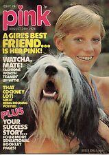Pink Magazine 24 August 1974 No 74      Steve Harley & Cockney Rebel      Sparks