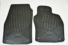 Genuine Official VAUXHALL ASTRA H RUBBER FRONT RUBBER FLOOR MATS NEW 93199706