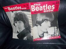 THE BEATLES MONTHLY BOOK (MAGAZINE) No.33 GENUINE ITEM FROM APRIL 1966