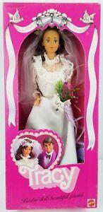 Barbie Doll's Beautiful Friend Tracy Bride Doll 1982 Mattel No. 4103 NRFB 1
