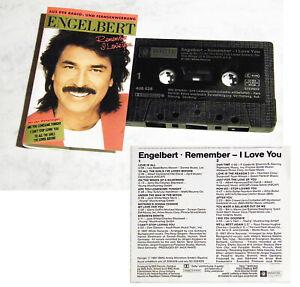 ENGELBERT Remember I Love You . 1987 White Records MC TOP