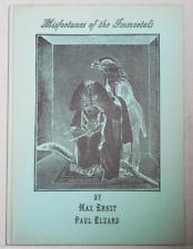 Max Art- Ernst, Paul Eluard / Misfortunes of the Immortals Inscribed Signed 1st