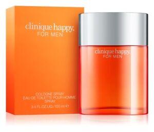 *Sale* Clinique Happy For Men 100ml EDT Spray ~ Full size men perfume