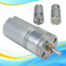 12V DC 1000RPM Mini Torque Gear Box Motor Reducer Motor