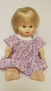 """Suzanne Gibson 16"""" Baby Doll 1980's - Sleepy  Eyes/Drink and Wet"""