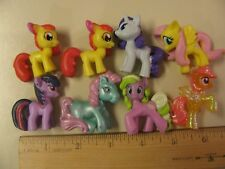 My Little Pony Figures Pvc Cute Mlp Ponies Horses Toys Figurines