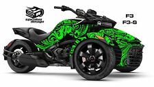 Can Am Spyder F3 F3S Decal Graphic Wrap kit - Perfect Scribble
