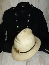 More details for obsolete southport fire brigade officers white helmet with tunic