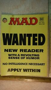 ES40 Mad Magzine1960s MAD MAGAZINE No 107, 104,103,102,101,100,98,97,95,94,92