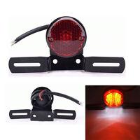 Motorbike Rear Round Tail Brake Stop Light Lamp For Cafe Racer Chopper Bobber