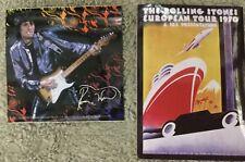 Rolling Stones Sticker set 1970 tour & Ronnie Wood Sticker Licensed