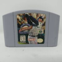 Major League Baseball Featuring Ken Griffey Jr. (Nintendo 64, 1998)