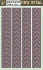 HGW 1:32 4 Color Lozenge Faded Transparent Fabric Texture Lower Decal #532042