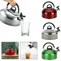 3L Stainless Steel Kettle Household kitchen Outdoor Camping Water Bottle
