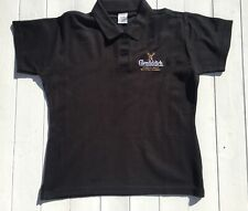 Glenfiddich Polo Shirt | Black | Size S | Excellent Condition | Mens | Whisky