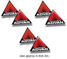 6x ADVAN decal CIVIC INTEGRA CR-Z DELSOL CELICA D1 AE86 SCION CELICA EVO DC2