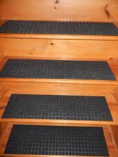 "13 = STEP  8.3/4"" X 32""  indoor Outdoor Stair Treads RUBBER BACKING ."