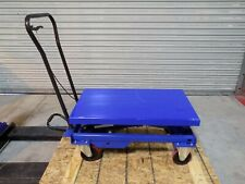 Worksmart Hydraulic Scissor Lift Cart 1750 Lb Capacity 36 X 20 Platform Repair
