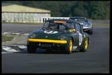 Lotus Elan 582072 en circuito de carreras A4 Foto impresión